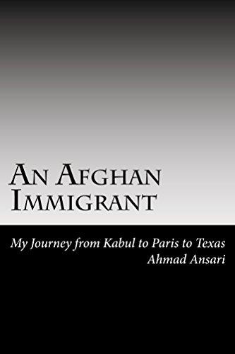 An Afghan Immigrant : Ahmad C Ansari